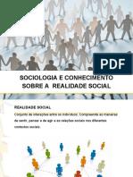 Sociologia e conhecimento