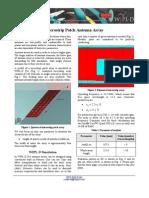 WIPL-D_Microstrip_Patch_Array