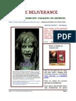 Bob Larson, Exorcist ~Talking to Demons