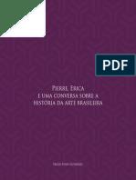 livro-pierre-erica- uma conversa sobre a historia da arte brasileira