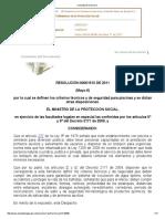 Resolución 1510- 2011-si