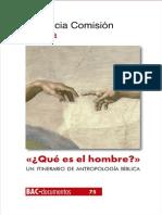 ___Que Es El Hombre___ - Pontifica Comision Biblica