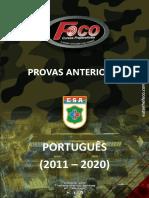 Prova Foco Esa - Português (2011 - 2020)