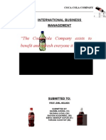 COKE international Business Management