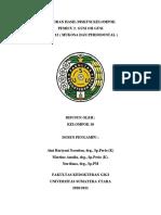 Laporan Hasil Diskusi Kelompok PEMICU 1 BLOK 12