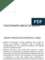 PSICOTERAPIA BREVE DE GRUPO