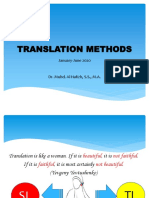 Presentation Translation Method