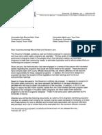 CA Budget Request - Revised Alignment