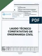 Laudo Técnico de Constatação de Obras