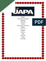 Trabajo Final Comercio y Finanzas Internacionales