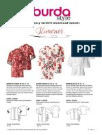 Burda Kimono Anl