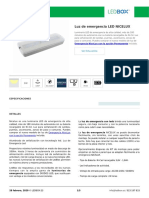 Luz de emergencia LED NICELUX (1)