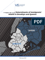 Mapping Key Health Determinants for Immigrants Report Center for Migration Studies