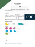 6°A-B Guía de Aprendizaje Matemática OA5
