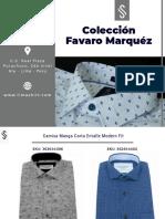 Colección Favaro Verano