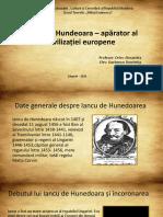 Iancu de Hundeoara – apărator al civilizației europene