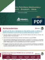 CPM Pemex Acuerdo Odebrecht Braskem Idesa, 03mar21