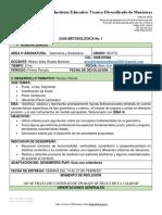 GUIA 1 Sexto Periodo 1 Geometria y Estadistica 2021.