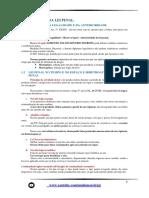 Resumo Direcionado - Da Aplicação Da Lei Penal