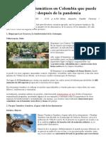 Siete parques temáticos en Colombia que puede visitar después de la pandemia
