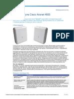 Cisco Aironet 4800 Datasheet