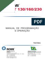 Manual de Programação e Operação