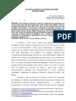 SERMÃO DE SANTO ANTÔNIO AOS PEIXES DE PADRE