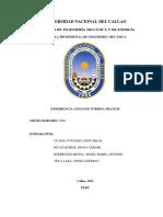 Informe Ensayo Turbina Francis