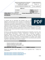 INGLÉS GRADO 4° # 1