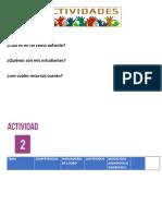 ACTIVIDADES UNIDAD 001