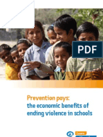 Prevention_Pays_violence in schools_Plan report 2010