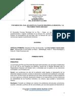 Plan de Desarrollo Municipal 2020 - 2023_La Paz