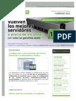 AcensNews Febrero 2011. Servidores Dedicados y Cloud Hosting