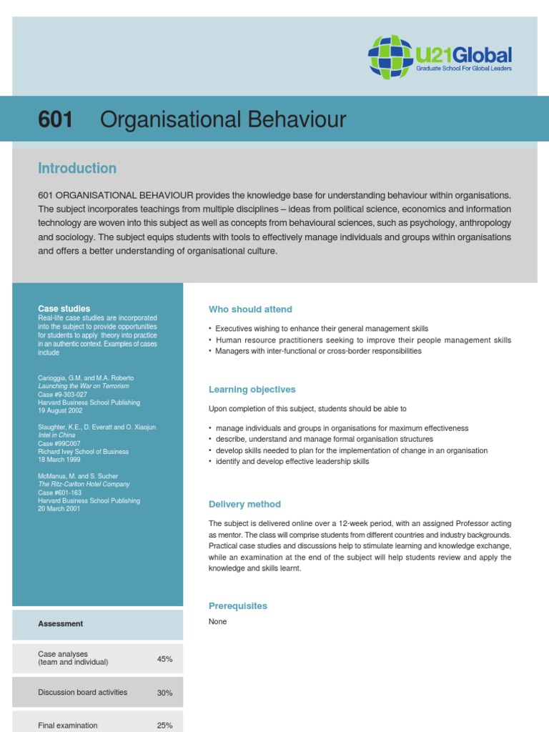 Organizational behavior levels, examples, individual level of.