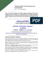 Quran and 2012