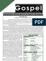GOSPEL 27 February