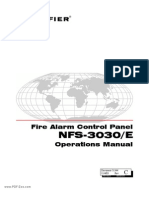 Notifier - NFS-3030-E Operations Manual