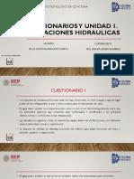 Unidad 1 y Cuestionarios Instalaciones