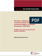 Petroleo y Estado Colonial. Guinea Ecuatorial 1995-2010