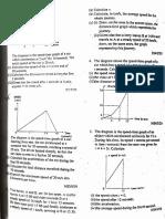 Kinematics Olevel Practice Questions