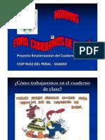 --Presentación Normas Cuadernos