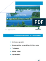Benefits by Common Rail