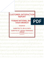 customer satisfaction report-final