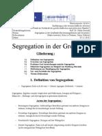 Segregation (Das Thesenpapier) korrigiert