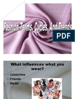 Fashion Terms, Cycles, And Trends
