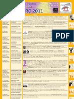 Programación Cultural Marzo 2011