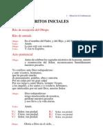 RITUAL DE LA CONFIRMACIÓN LIBRO CELEBRANTE