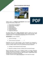 TRABAJO DE ENERGÍAS RENOVABLES