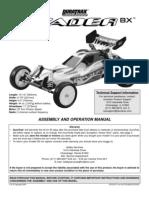 EVADER-BX manual