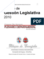 resumen legislativo 2011